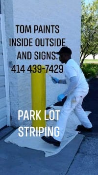 painting interiors and exteriors as well as signs Milwaukee