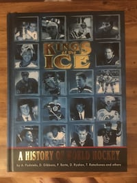 Kings of the Ice-A History of World Hockey Hardcopy Book- Brand New Aurora, L4G 3K4