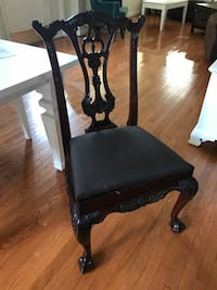 6 Brown wooden dinning chairs Fairfax, 22033