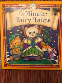 5-minute fairy tales book