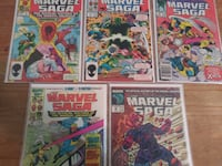 VINTAGE COMIC BOOK LOT Hyattsville