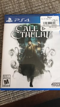 Call of Cthulhu for PS4 Innisfil, L9S