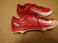 pair of red-and-white Nike vapor cleats Knoxville, 37923