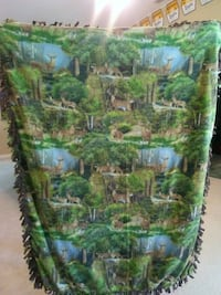green and blue tree print textile Plant City, 33566