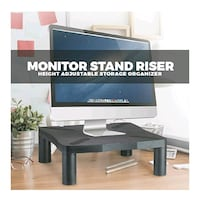 NEW Ergonomic Computer Monitor Screen Stands / Risers Adjustable Heigh