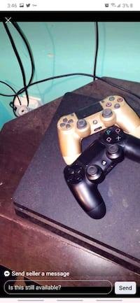 Ps4 1 tb 2 controllers