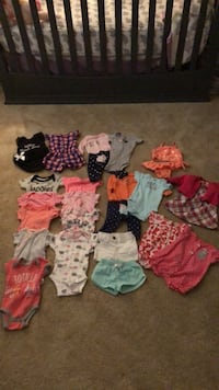 Mostly brand new baby girl clothes from newborn to 0-3 months have more to post Woodbridge, 22192