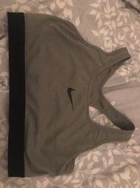 women's black and gray Nike sport brassiere Gulfport, 39507