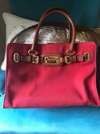 Authentic Michael Kors red satchel  South Dartmouth, 02748