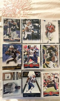 Football and basketball cards 100 plus cards