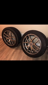 Full set 20 inch RIMS AND TIRES! Vaughan, L6A 2H8