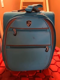 Carry on canvas luggage