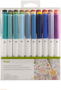 Cricut Ultimate fine point pen set  Brampton