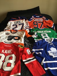Assorted hockey jersey Edmonton, T6R 0N6