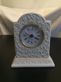 Porcelain Quartz Table Clock Arlington, 22204