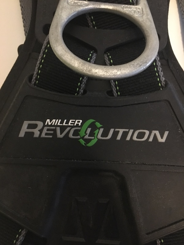 Never used, Miller fall protection harness