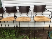 7 iron patio bar stools Atlanta, 30331