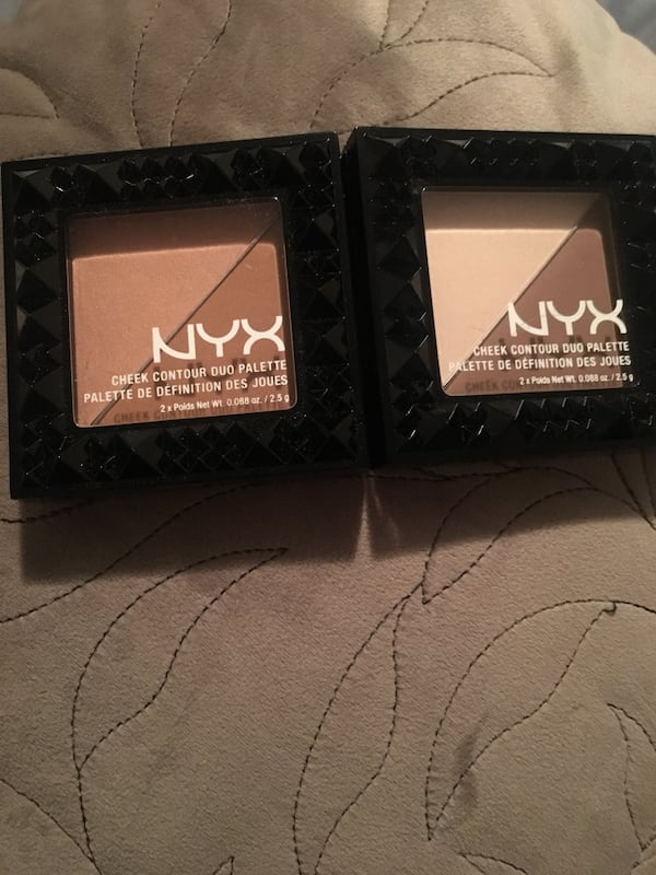 NYX Two Cheek Contour Duo Palette 0