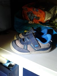 toddler's blue-and-white sneakers Temple, 76502