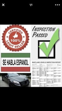 PASSED MD STATE INSPECTION  College Park