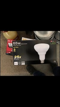 Led down lights with extra halogen bulbs Redmond, 97756