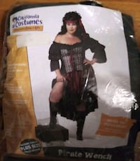 NEW Pirate Wench plus size costume