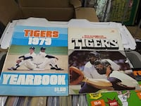 1979 Detroit Tigers Yearbook and Program Ontario, L0R 2H4