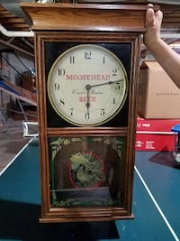 Used Collectible Moosehead Beer Wall Clock Best Offer
