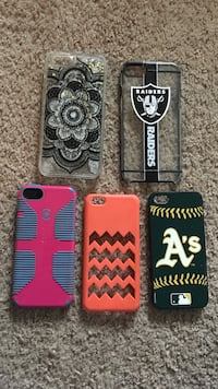 five assorted-color iPhone cases Wheatland, 95692