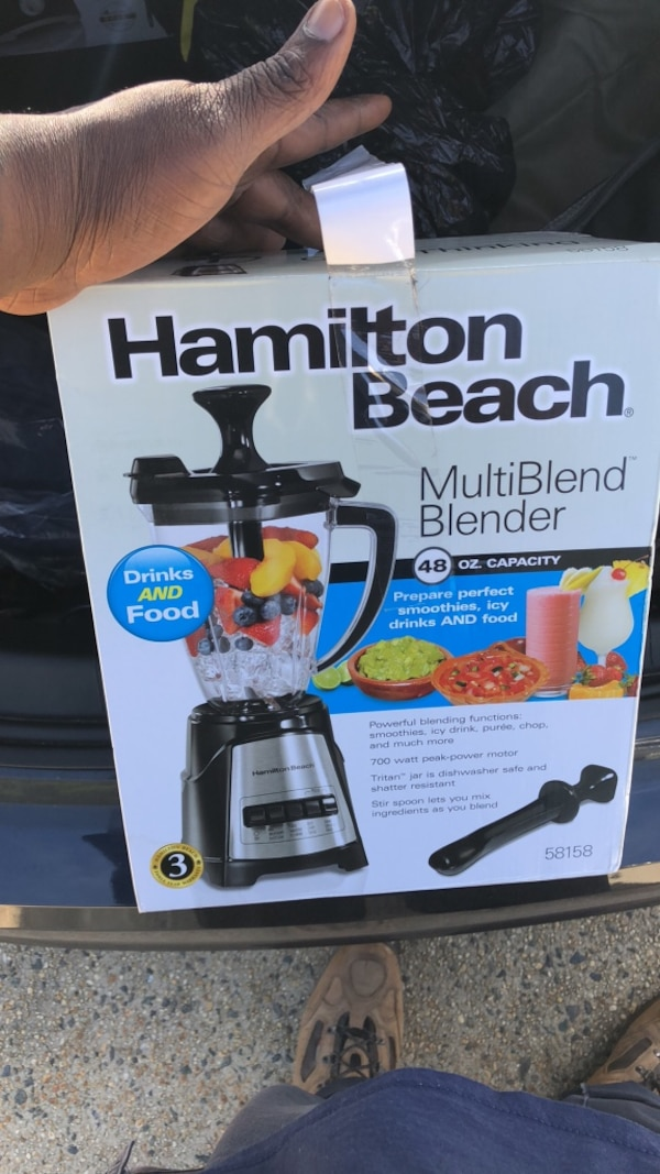 Hamilton Beach coffee maker box