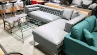 Leather sectional . Mississauga, L4X 1R1