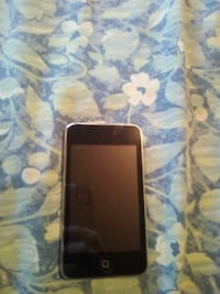 black iPod touch older Generation