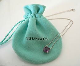 lol Tiffany and Co. Sterling silver amethyst pendant - Tiffany and Co.