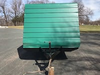 10' enclosed and 16' flatbed trailer Apple Valley, 55124