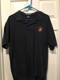 United States Marine Corps polo shirt medium size Manassas Park, 20111