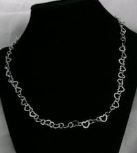 New 925 antique silver 22 inches heart necklace Tucson, 85710