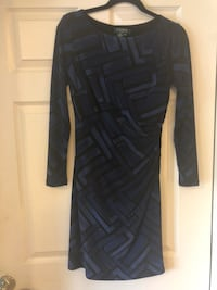 black and gray long-sleeved dress Fairfax