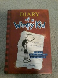 Diary of a Wimpy Kid by Jeff Kinney book Calgary, T3M 0J1