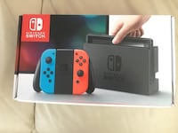 Black and red nintendo switch box Mississauga, L5L 5P9