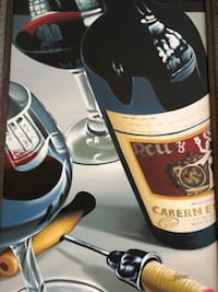 black and beige labeled bottle painting Tampa, 33618