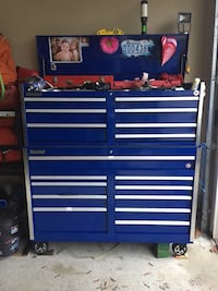 blue and gray tool chest Surrey, V3S 4P9