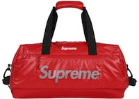 Supreme Duffle Bag rossa