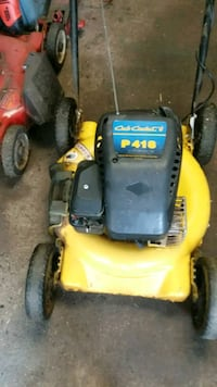 Cub cadet push mower. York