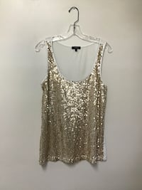 Women EXPRESS sequin tank top… Size large