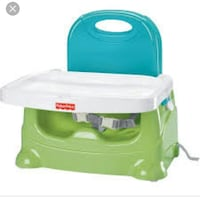 Baby Fisher Price booster seat deluxe