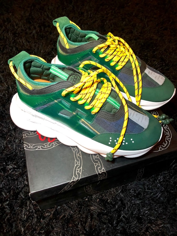Used Versace Chain Reaction Sneakers Size 10 for sale in New York ... fc145abe6