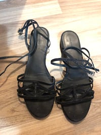 Zara shiny sandals