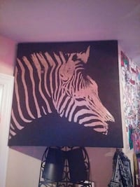 black and white zebra print wall decor Waterloo, N2L 4S4