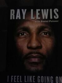 ray lewis autograph book  Silver Spring, 20906
