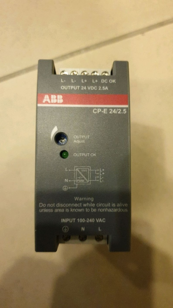Allen bradley power supply  5a19b0ed-1720-41bb-b723-1183707e023c